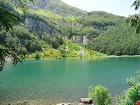 Veduta estiva del Lago Santo