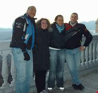 Il gruppetto a Tolfa