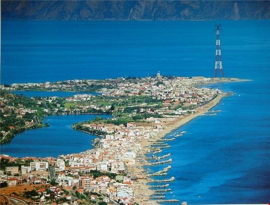 Una veduta della punta estrema della sicilia