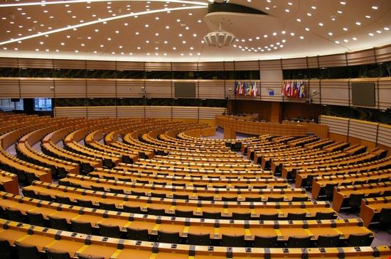 foto l 39 interno del parlamento europeo a bruxelles