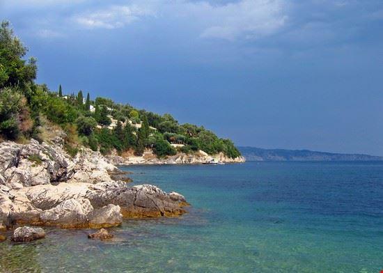 La spiaggia di Kalamos