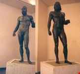 reggio calabria le due statue in bronzo