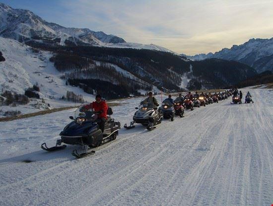 Escursioni Motoslitta