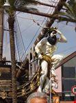 genova particolare del galeone dei pirati