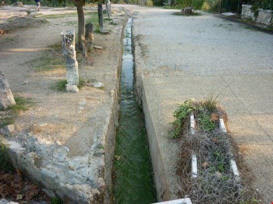 Foto scavi esterni e ruscelli di acqua termale a castiglione d 39 orcia 550x412 autore lavinia - Alberghi bagno vignoni ...