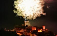 L'incendio della Rocca