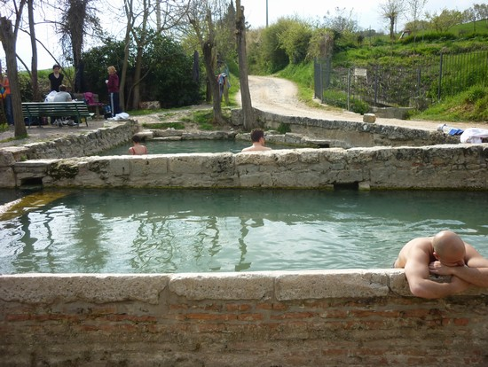 Le terme a San Casciano dei Bagni