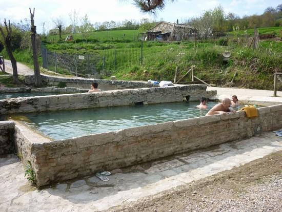 Foto vasche nel bosco a san casciano dei bagni 550x414 autore lavinia berti 7 di 7 - Ristoranti san casciano dei bagni ...