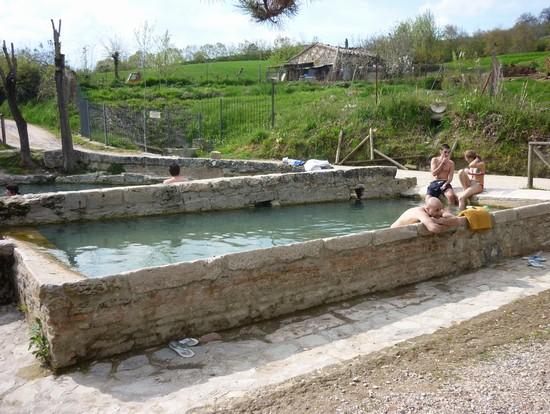 Foto vasche nel bosco a san casciano dei bagni 550x414 autore lavinia berti 3 di 7 - San casciano dei bagni hotel ...