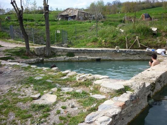 Foto vasche nel bosco a san casciano dei bagni 550x414 autore lavinia berti 4 di 7 - Ristoranti san casciano dei bagni ...