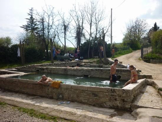 Foto vasche nel bosco a san casciano dei bagni 550x414 autore lavinia berti 5 di 7 - Ristoranti san casciano dei bagni ...