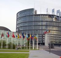 16518 strasburgo veduta del parlamento europeo