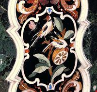 Tarsìe marmoree dell'Altare maggiore della Parrocchiale