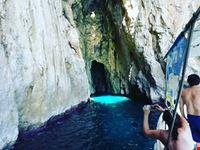 Colore mare grotta Leuca