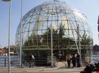 genova la bolla o biosfera di renzo piano