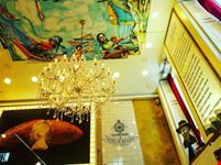 Casa portuguesa de pastel do bacalhau