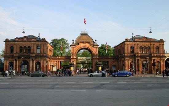 16848 copenaghen ingresso al parco tivoli