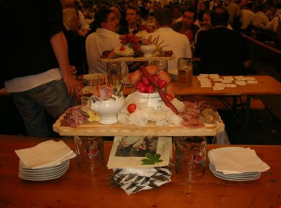 Tipico piatto bavarese