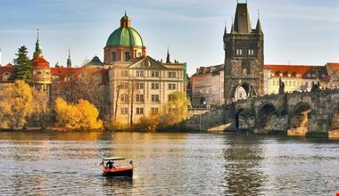 Praga in autunno