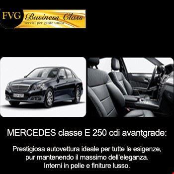 Mercedes Classe E 250 con autista