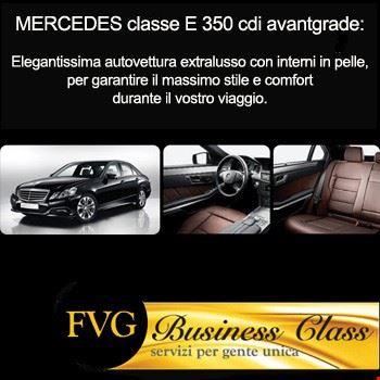 Mercedes Classe E 350 con autista