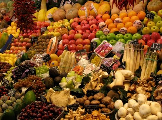 Foto la bouqueria a barcellona 550x409 autore alicia for Villaggi vacanze barcellona
