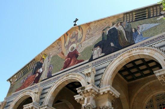 gerusalemme la basilica dell agonia