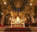 new york l interno della cattedrale