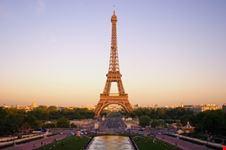 Tramonto con la Tour Eiffel