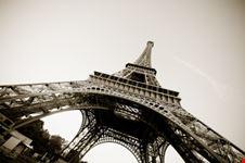 La Tour Eiffel dal basso