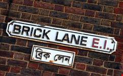 Insegna di Brick Lane