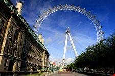 Veduta del London Eye