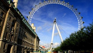 Veduta del London Eye