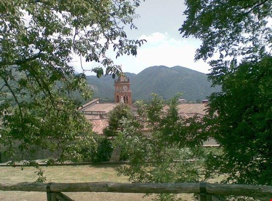Veduta della Certosa di Trisulti
