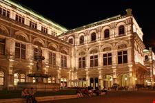 Particolare del Wiener Staatsoper