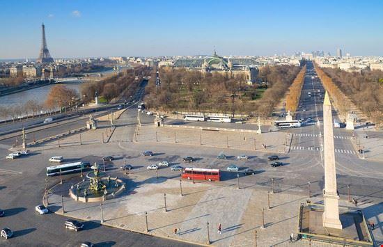 La piazza vista dall'alto