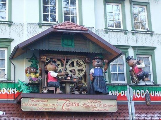 Foto particolare di una facciata di una casa triberg a for Immagini di una casa