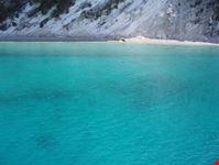 Scorcio della lunghissima spiaggia di Gidaki