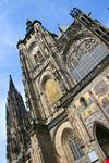 praga scorcio della cattedrale di san vito