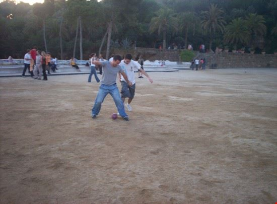 Partita a Park Guell