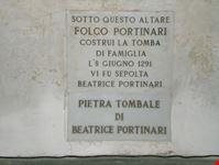 firenze pietra tombale di beatrice