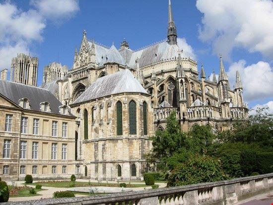 Uno scorcio della splendida cattedrale di Reims