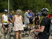 firenze foto gruppo viaggiare in bici