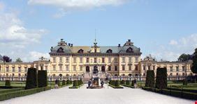 stoccolma facciata principale del drottningholm palace
