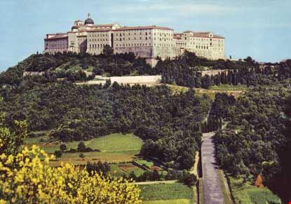 Abbazia di Montecassino, lato nord-ovest