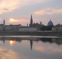 17935 firenze tramonto sul fiume