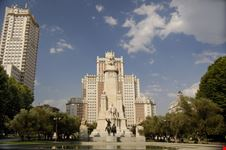 Il monumento a Cervantes