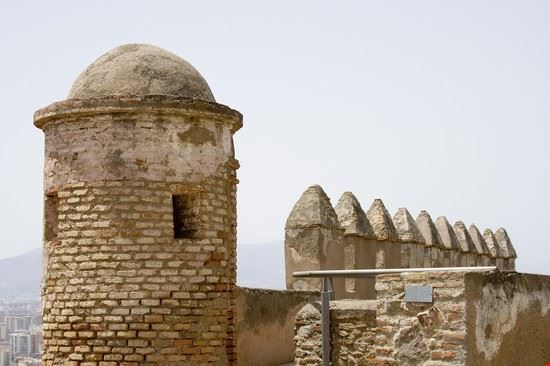 17997 malaga castello di gibralfaro