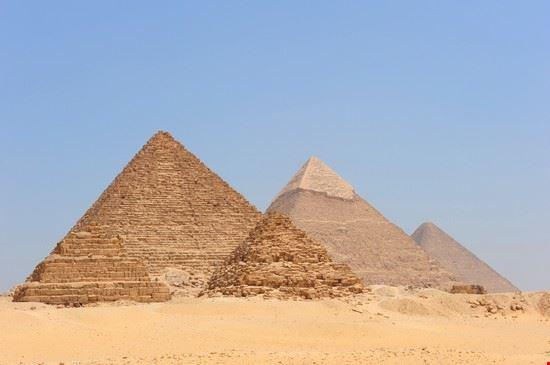 giza le piramidi di giza