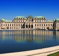 18046 vienna scorcio del palazzo del belvedere